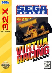 Обложка Virtua Racing Deluxe