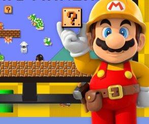 Бесплатная браузерная версия Mario Maker позволяет делать крутые обои
