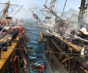 Реклама Assassin's Creed IV: Black Flag была размещена у офиса EA