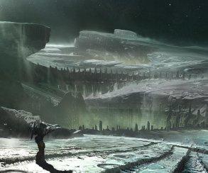 На новые снимки Destiny попал лунный пейзаж