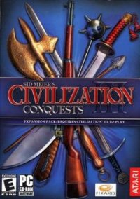 Обложка Civilization III: Conquests