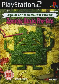 Aqua Teen Hunger Force: Zombie Ninja Pro-Am – фото обложки игры