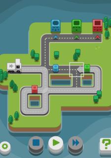 RGB Express: Mini Truck Puzzle
