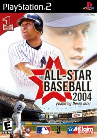 Обложка All-Star Baseball 2004