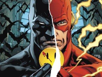За минуту Бэтмен успел встретить отца и сразиться с Обратным Флэшем