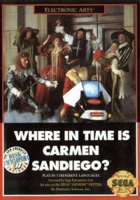 Обложка Where in Time is Carmen Sandiego?