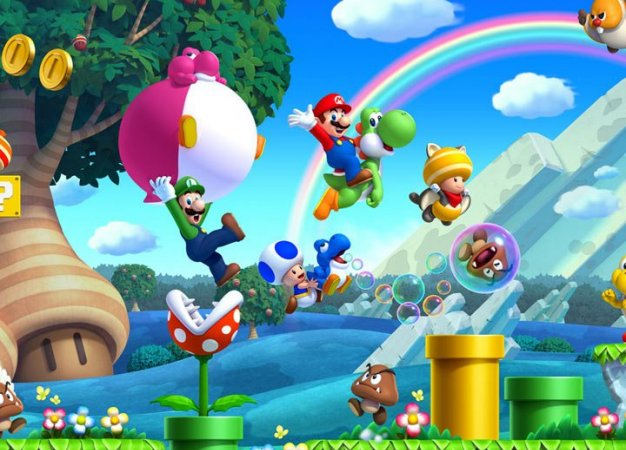 Рецензия на New Super Mario Bros. U