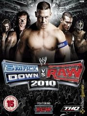 Обложка WWE SmackDown vs. Raw 2010