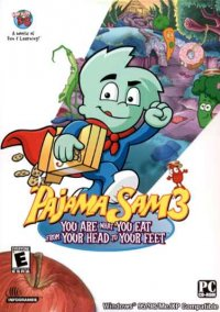 Обложка Pajama Sam 3: You Are What You Eat from Your Head to Your Feet