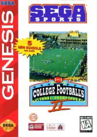 Обложка College Football's National Championship II