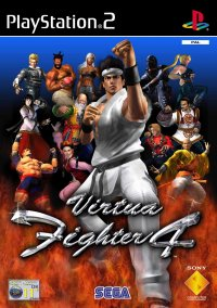 Обложка Virtua Fighter 4