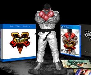 В состав коллекционного издания Street Fighter 5 входит статуэтка Рю