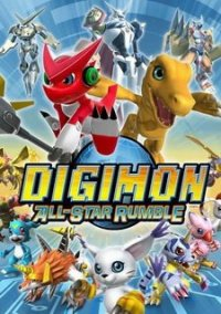 Обложка Digimon All-Star Rumble