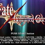 Скриншот Fate/unlimited codes
