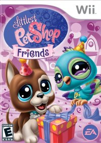 Обложка Littlest Pet Shop Friends
