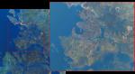 Так выглядит карта The Witcher 3 из космоса - Изображение 2