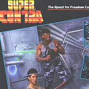 Обложка Super Contra: The Alien Strikes Back