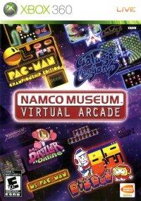 Обложка Namco Museum: Virtual Arcade