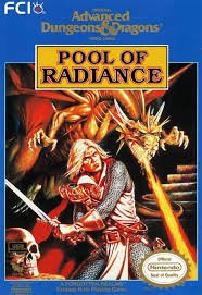 Обложка Advanced Dungeons & Dragons: Pool of Radiance