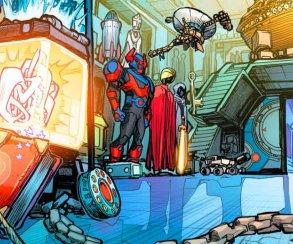 Какие любопытные секреты можно найти вбашне Лиги справедливости?
