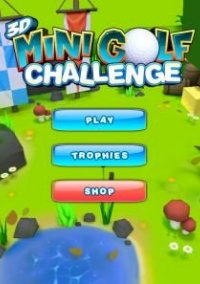 3D Mini Golf Challenge – фото обложки игры