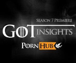 УPornHub упал траффик после старта седьмого сезона «Игры престолов»