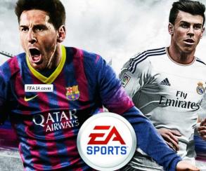Новая обложка FIFA 14