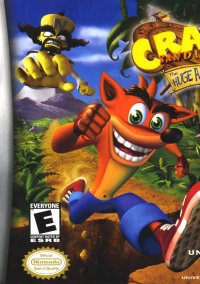 Обложка Crash Bandicoot: The Huge Adventure