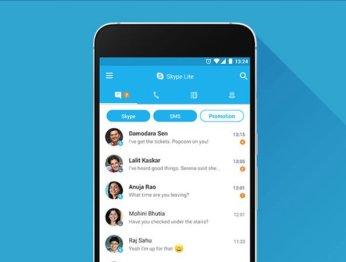 Microsoft анонсировала облегченную версию Skype для Android