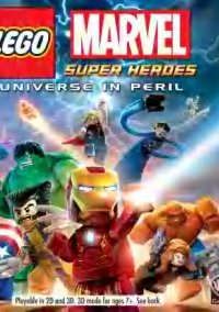 Обложка LEGO Marvel Super Heroes: Universe in Peril