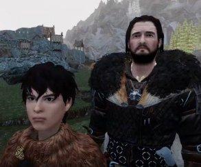 Трейлер «Игры престолов» воссоздали в Skyrim при помощи 260 модов
