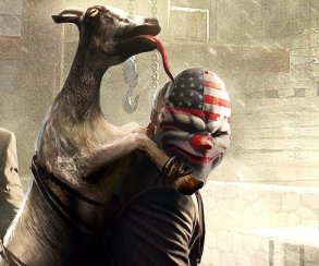 Козлы на кокаине: Goat Simulator стал новым DLC для PayDay 2