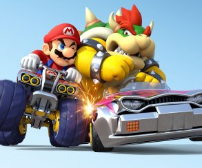 Mercedes использует Марио для рекламы нового автомобиля