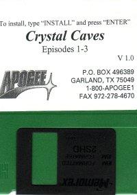 Обложка Crystal Caves Volume 3: Milo versus the Supernova