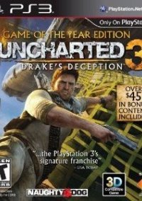 Обложка Uncharted 3: Drake's Deception - Game of the Year Edition