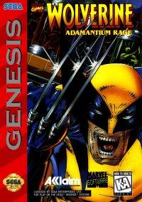 Обложка Wolverine: Adamantium Rage