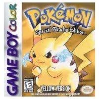 Обложка Pokémon Yellow Version: Special Pikachu Edition