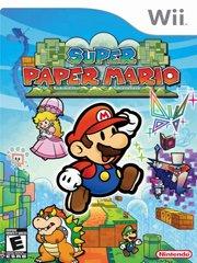 Обложка Super Paper Mario