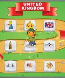 Kitty's Trip to Europe: United Kingdom