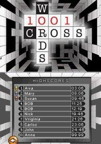 Обложка 1001 Crosswords