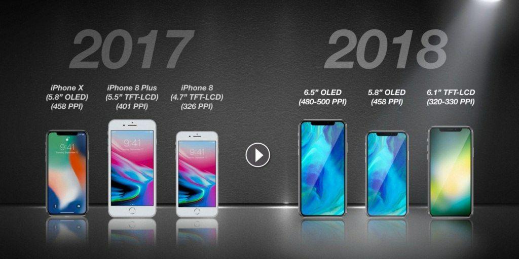 Какой выйдет новый айфон 2018