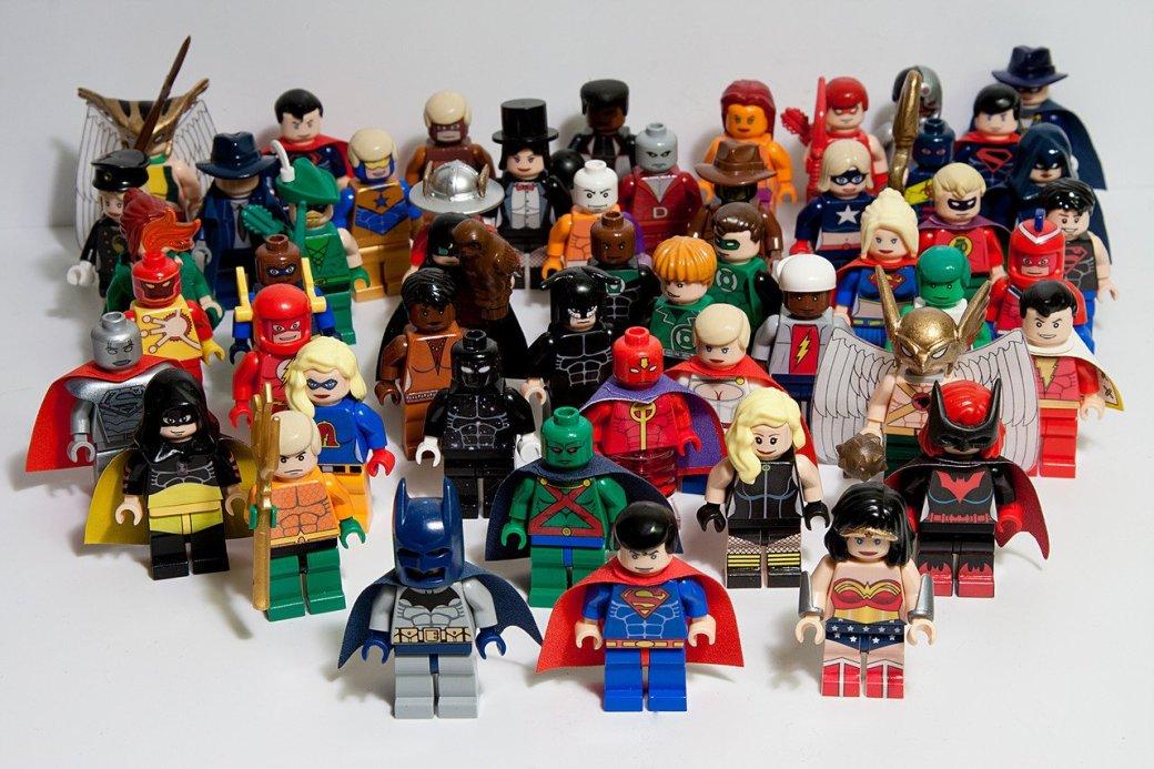 LEGO украшает комиксы DC  - Изображение 1