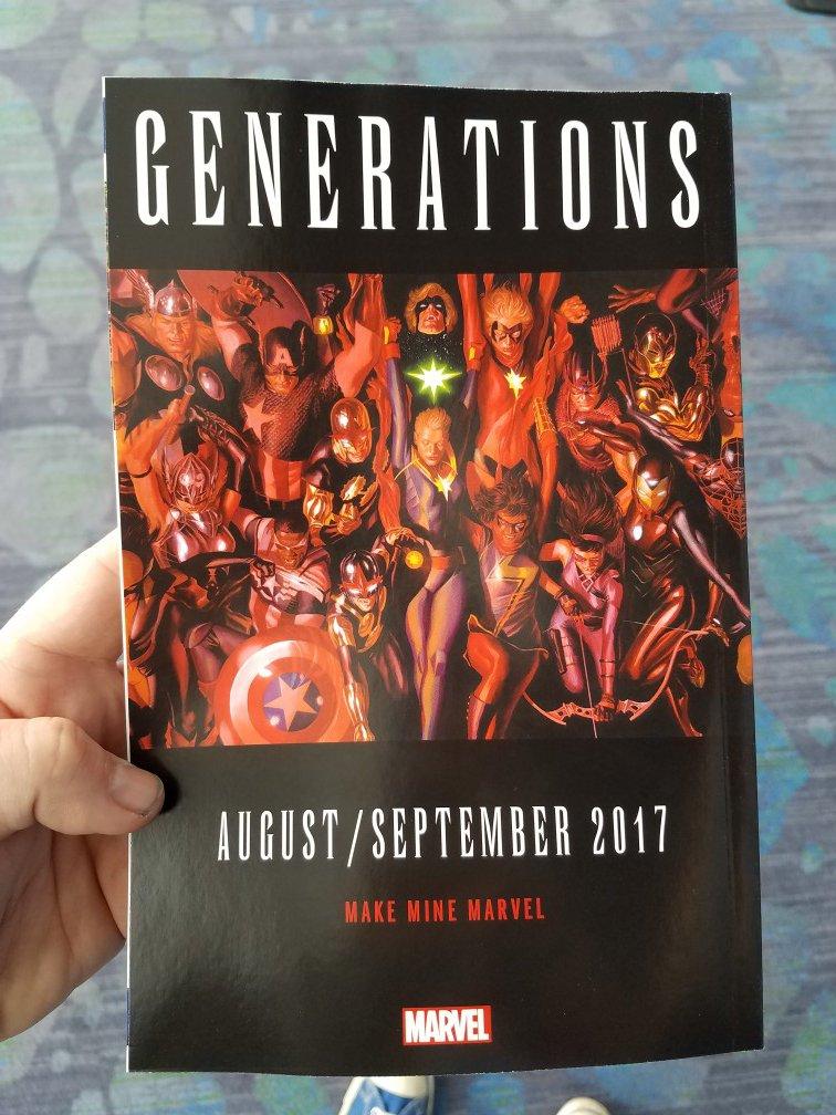 Generations: Халк, Мар-Велл, Джин Грей и Росомаха вернутся в комиксы. - Изображение 2