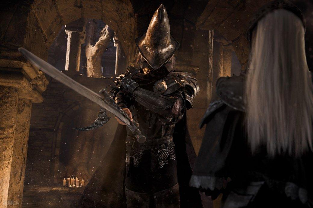 Косплей дня: Негорящий и Юрия из Лондора в Dark Souls 3. - Изображение 4