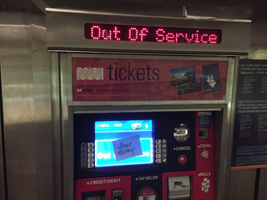 Из-за хакеров метро Сан-Франциско временно стало бесплатным - Изображение 1