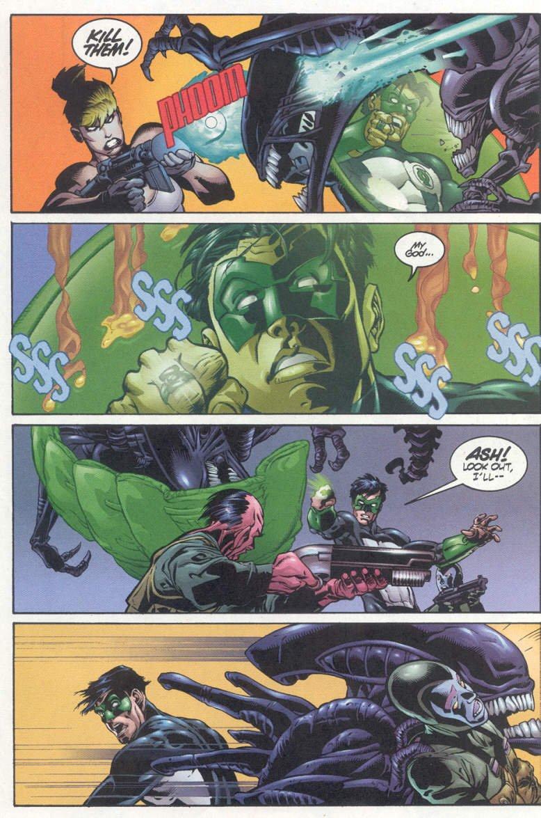 Бэтмен против Чужого?! Безумные комикс-кроссоверы сксеноморфами. - Изображение 26