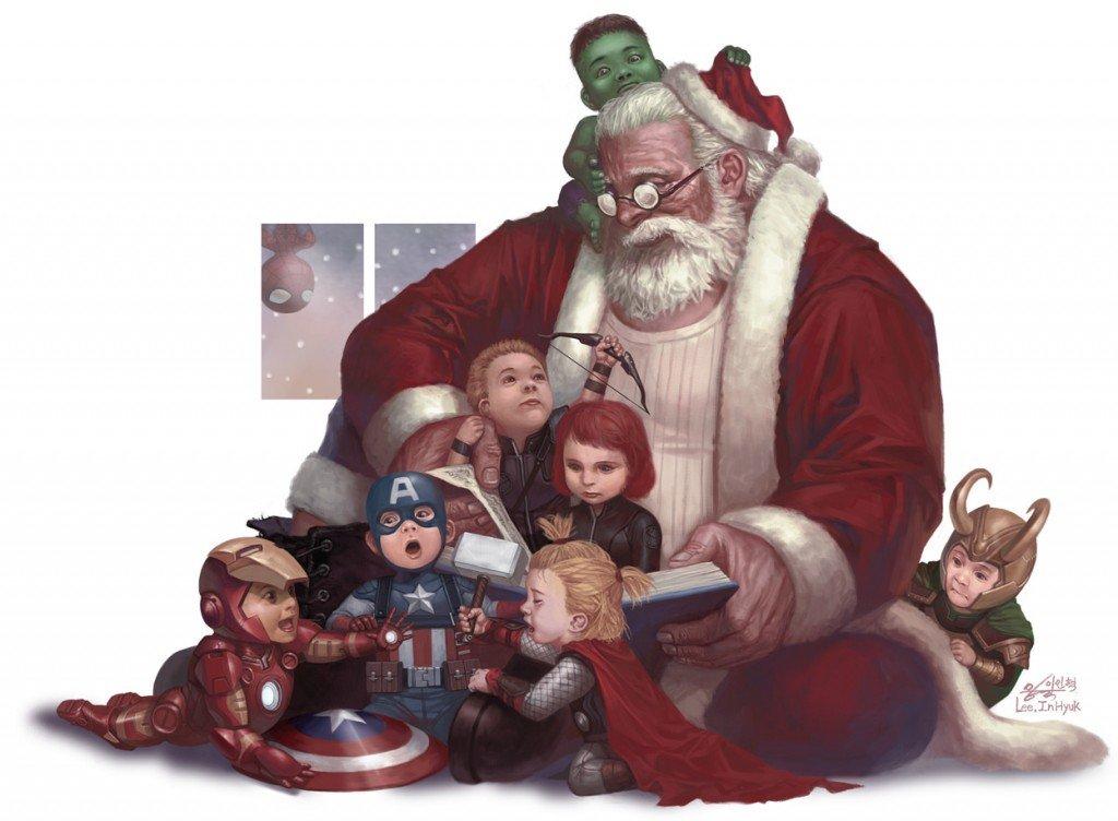 Галерея вариаций: Мстители-женщины, Мстители-дети... - Изображение 66