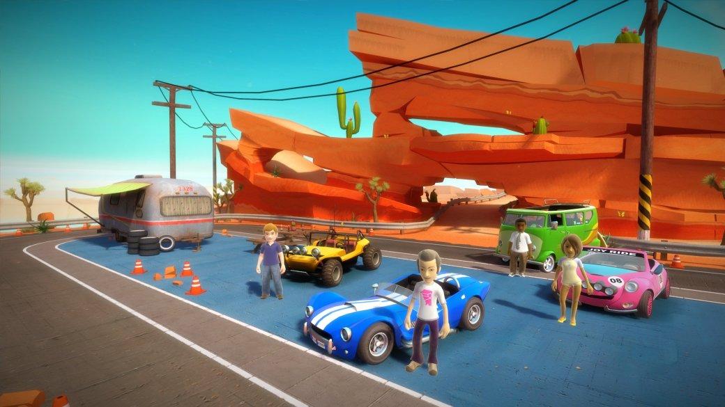 Гонки Joy Ride отказались от поддержки Kinect - Изображение 1
