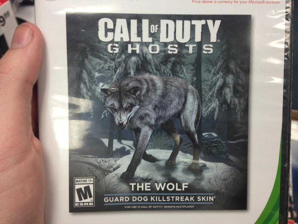 В сетевой режим Call of Duty: Ghosts придет белый волк - Изображение 1