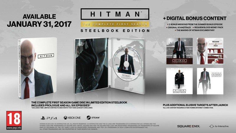 Первый сезон Hitman выйдет на дисках 31 января - Изображение 1